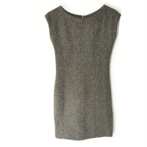 Zara Basic Cap Sleeve Shift Dress